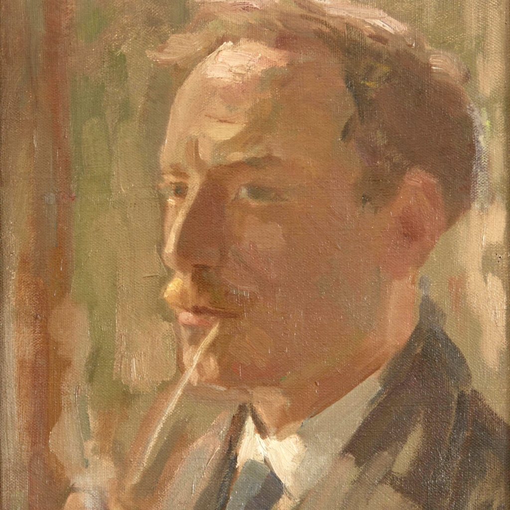 Portret Kees Verwey, 1933